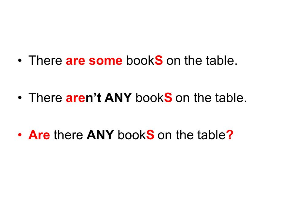 There are some bookS on the table.