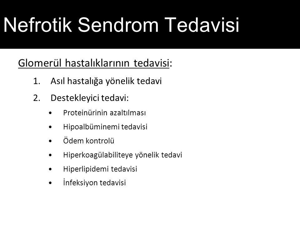Nefrotik Sendrom Tedavisi