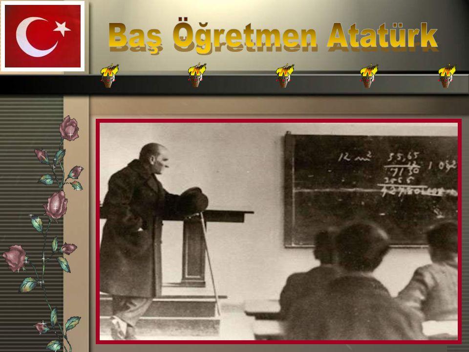Baş Öğretmen Atatürk
