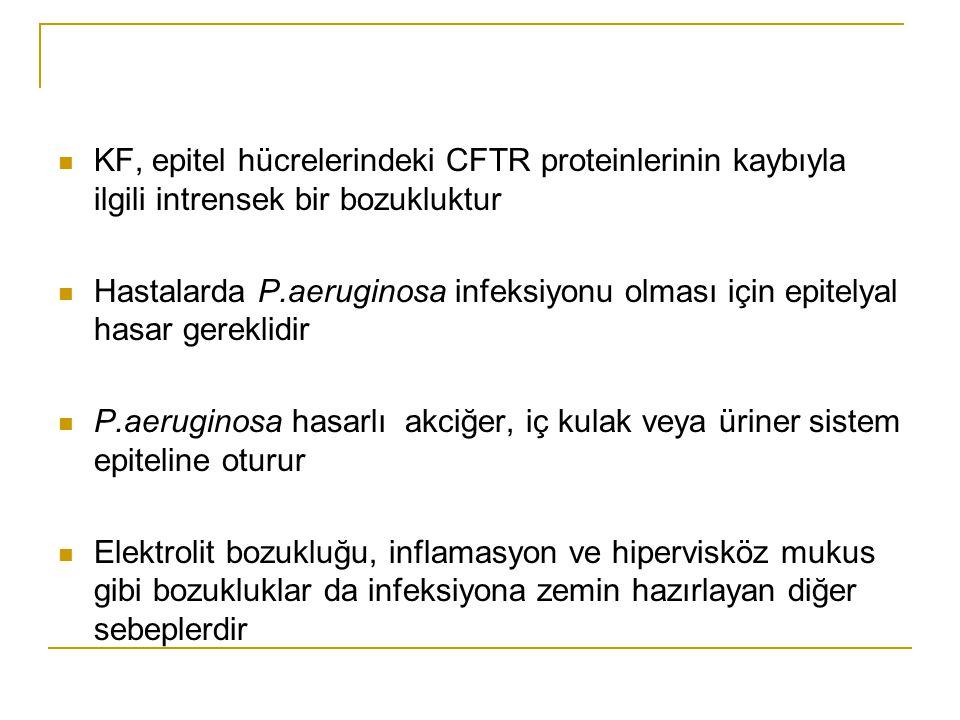 KF, epitel hücrelerindeki CFTR proteinlerinin kaybıyla ilgili intrensek bir bozukluktur