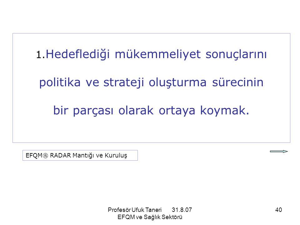 politika ve strateji oluşturma sürecinin