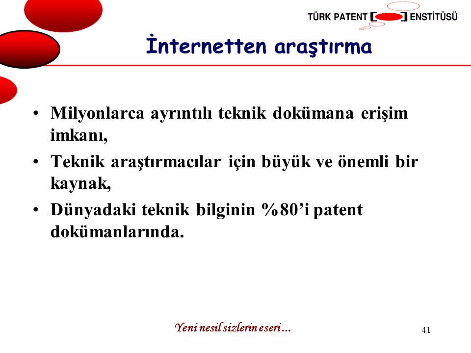 İnternetten araştırma