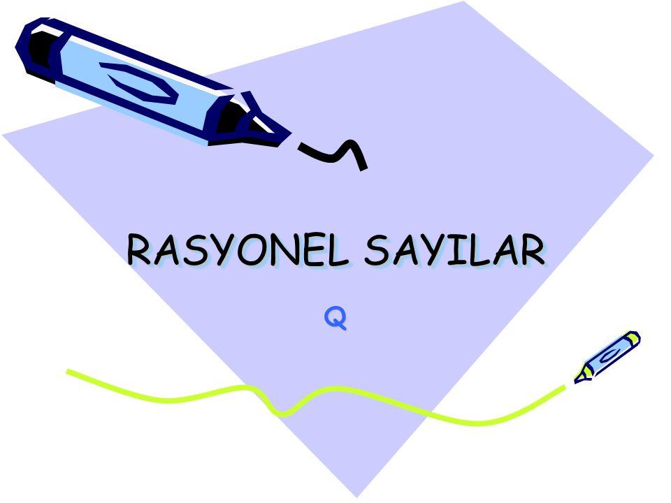 RASYONEL SAYILAR Q