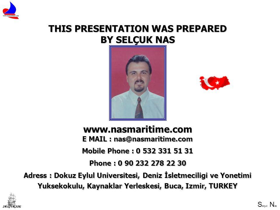 THIS PRESENTATION WAS PREPARED E MAIL : nas@nasmaritime.com