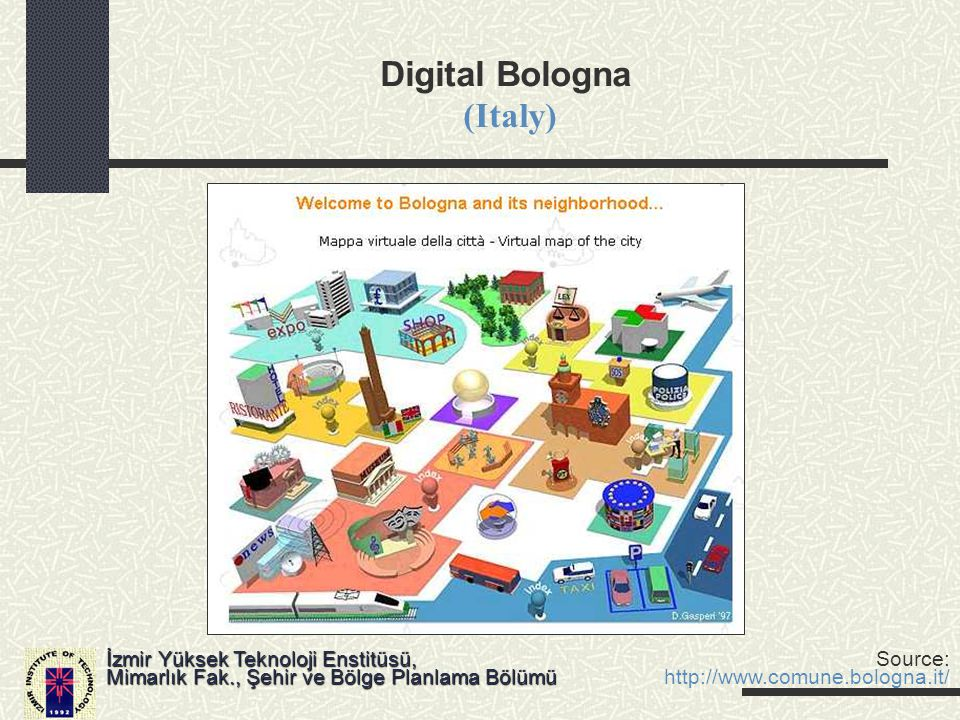 Digital Bologna (Italy)