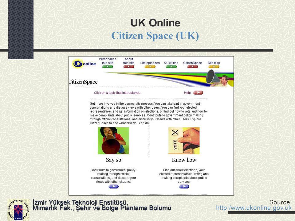 UK Online Citizen Space (UK)