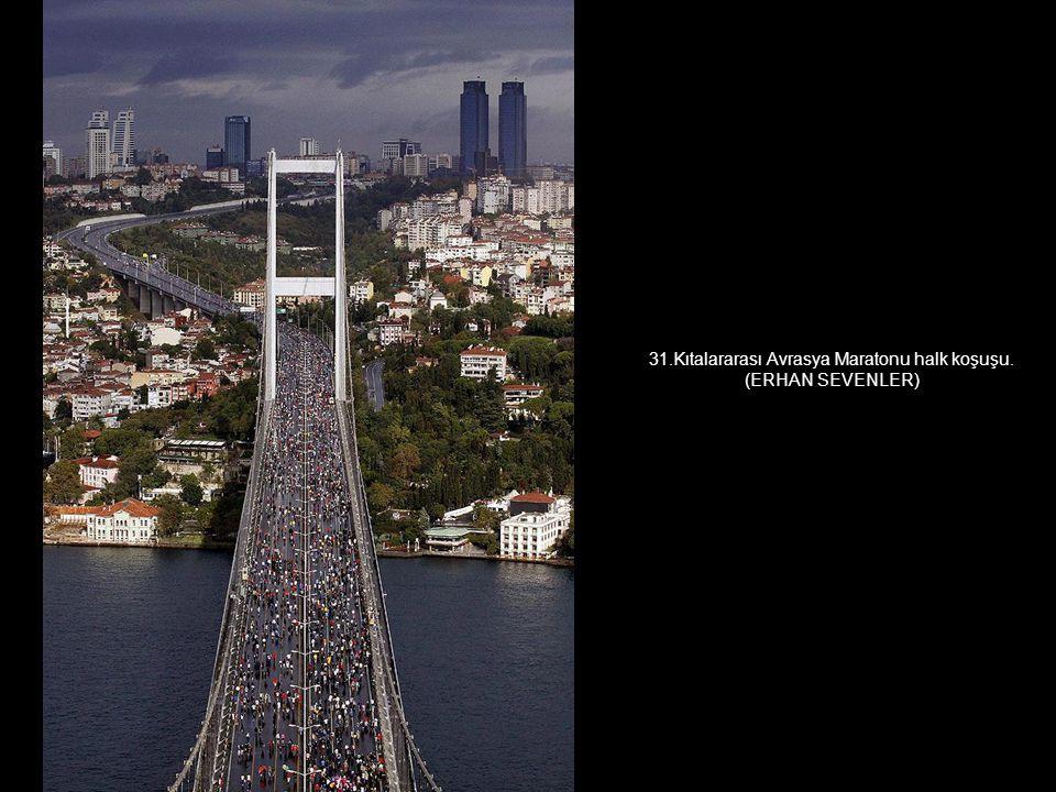 31.Kıtalararası Avrasya Maratonu halk koşuşu.