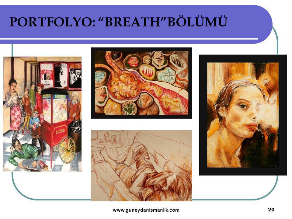 PORTFOLYO: BREATH BÖLÜMÜ