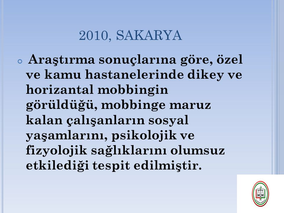 2010, SAKARYA