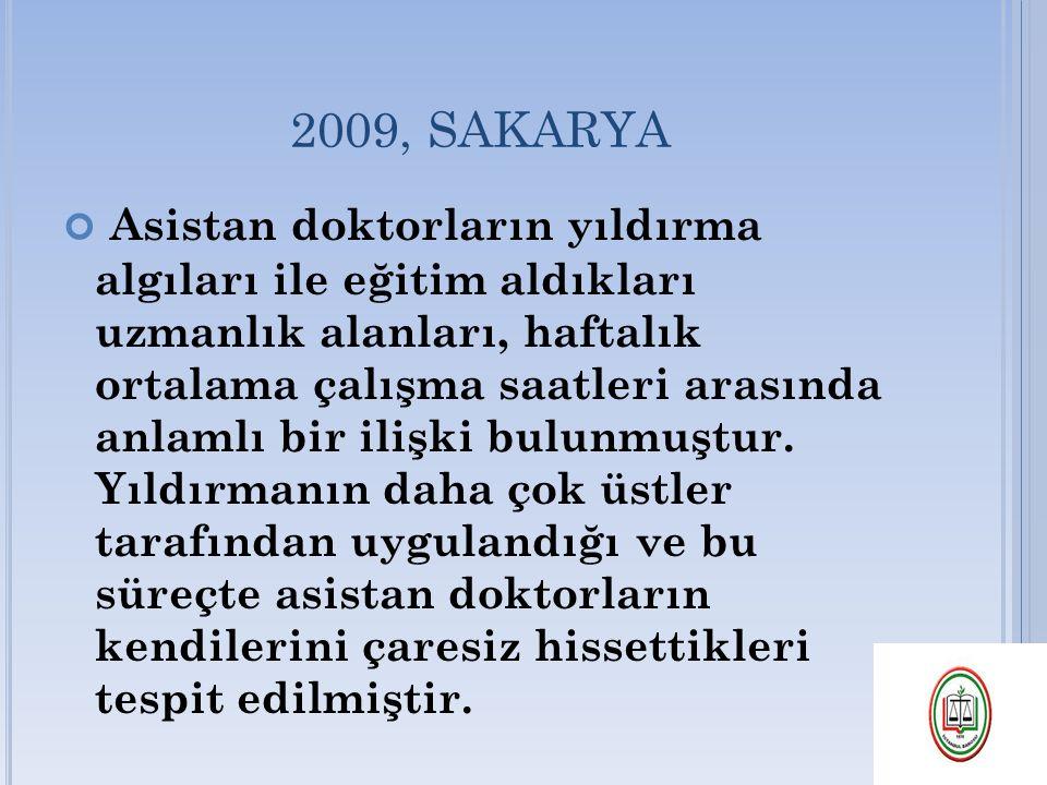 2009, SAKARYA