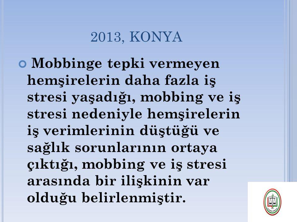 2013, KONYA