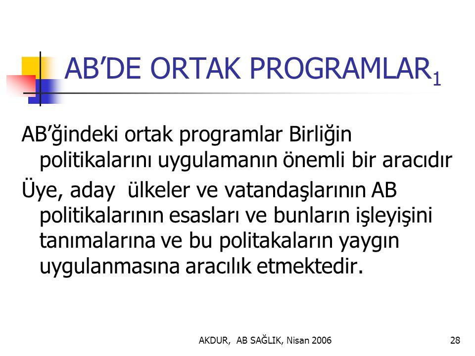 AB'DE ORTAK PROGRAMLAR1