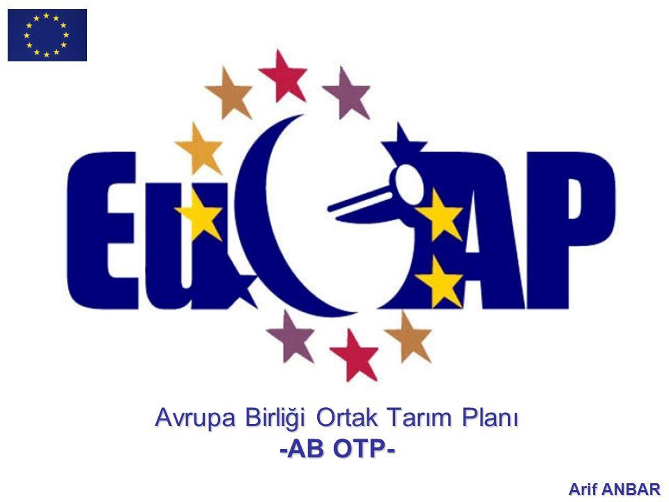 Avrupa Birliği Ortak Tarım Planı -AB OTP-