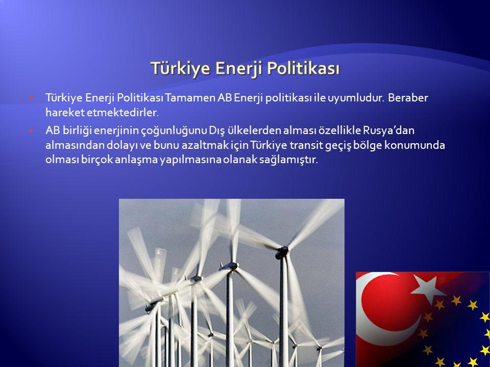 Türkiye Enerji Politikası