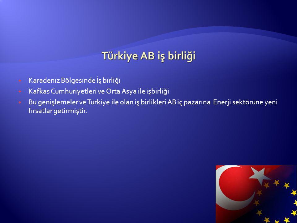 Türkiye AB iş birliği Karadeniz Bölgesinde İş birliği