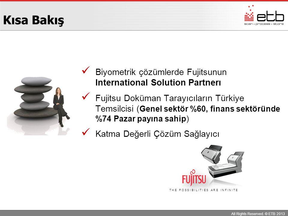 Kısa Bakış Biyometrik çözümlerde Fujitsunun International Solution Partnerı.