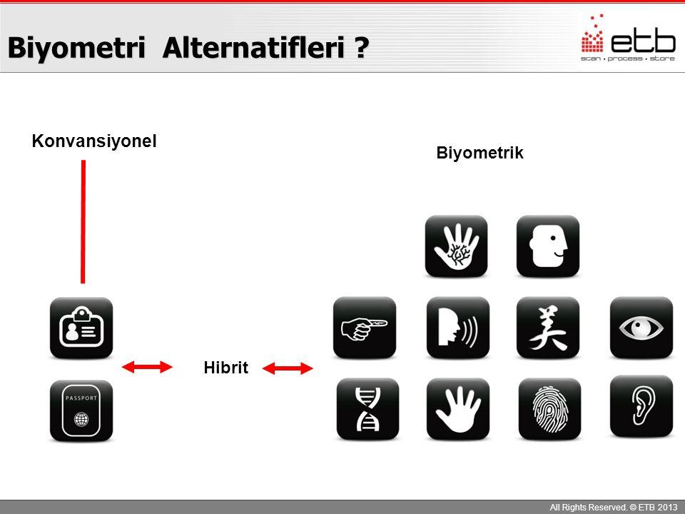 Biyometri Alternatifleri
