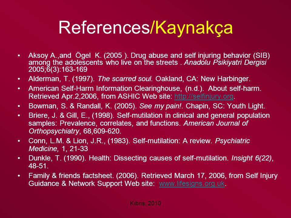 References/Kaynakça