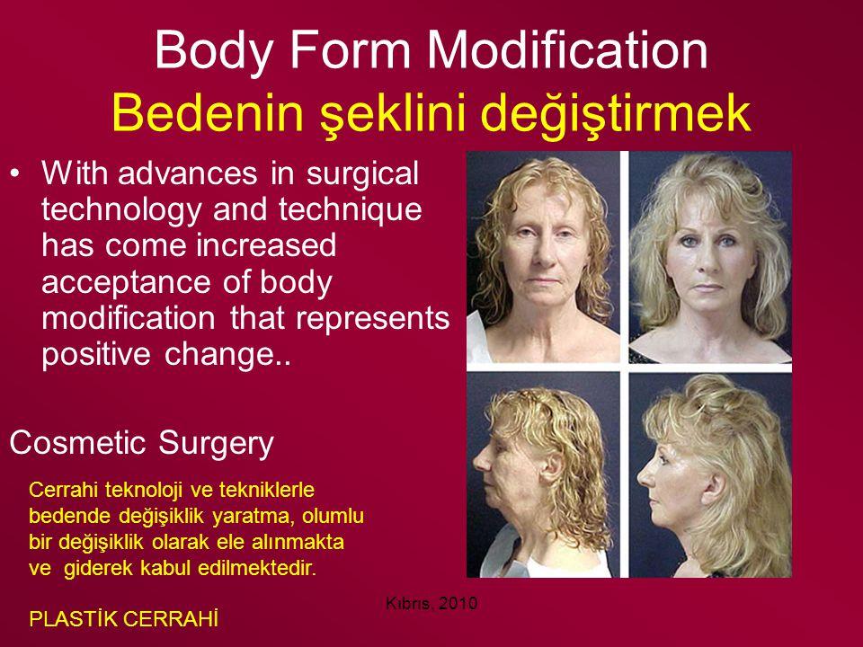 Body Form Modification Bedenin şeklini değiştirmek