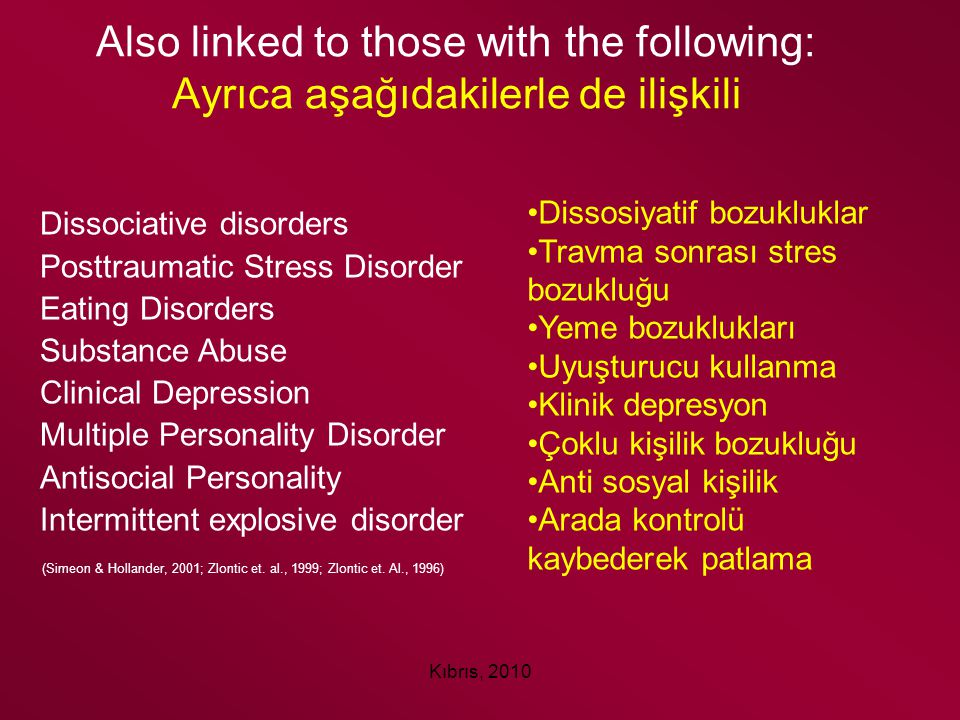 Also linked to those with the following: Ayrıca aşağıdakilerle de ilişkili