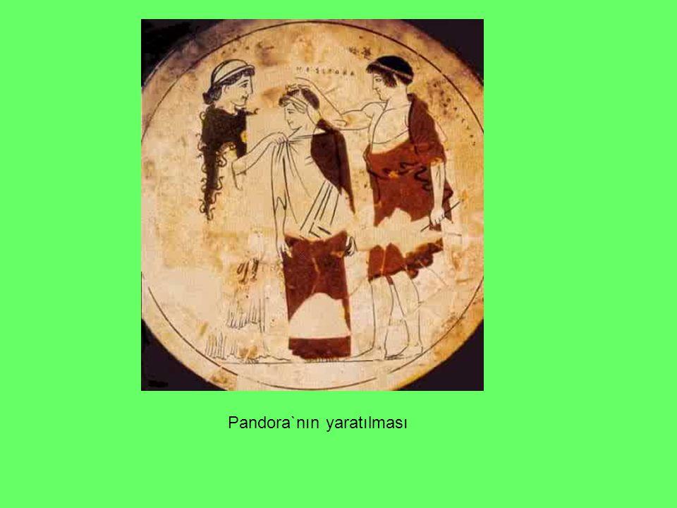 Pandora`nın yaratılması