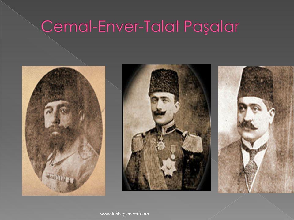 Cemal-Enver-Talat Paşalar