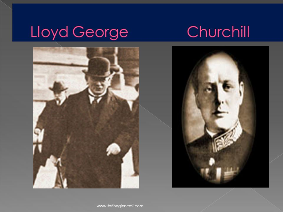 Lloyd George Churchill