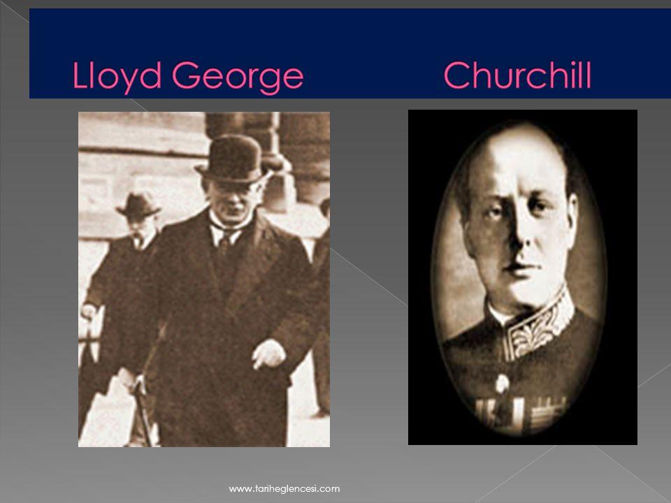 Lloyd George Churchill