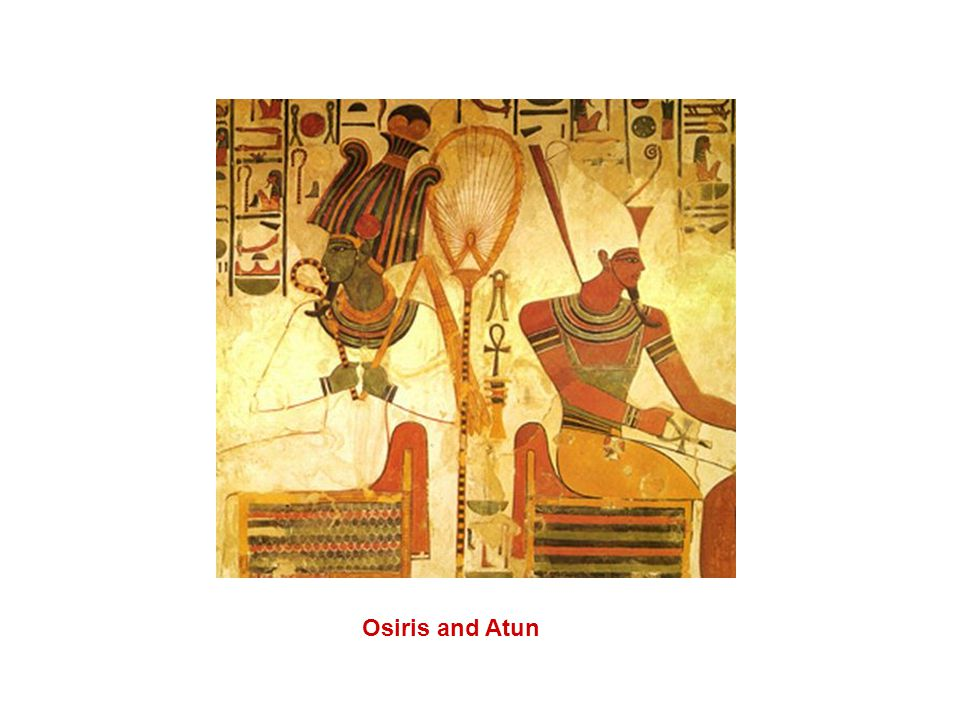 Osiris and Atun