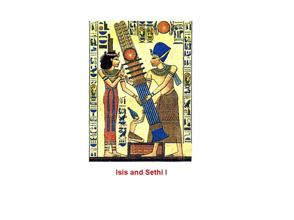 Isis and Sethi I