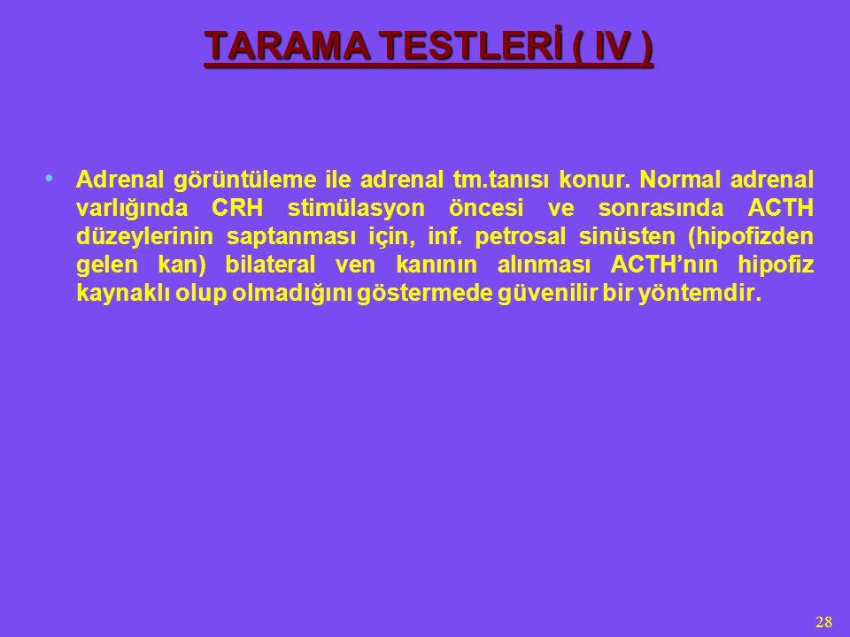 4/5/2017 TARAMA TESTLERİ ( IV )