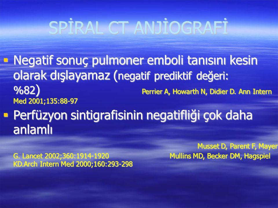 SPİRAL CT ANJİOGRAFİ