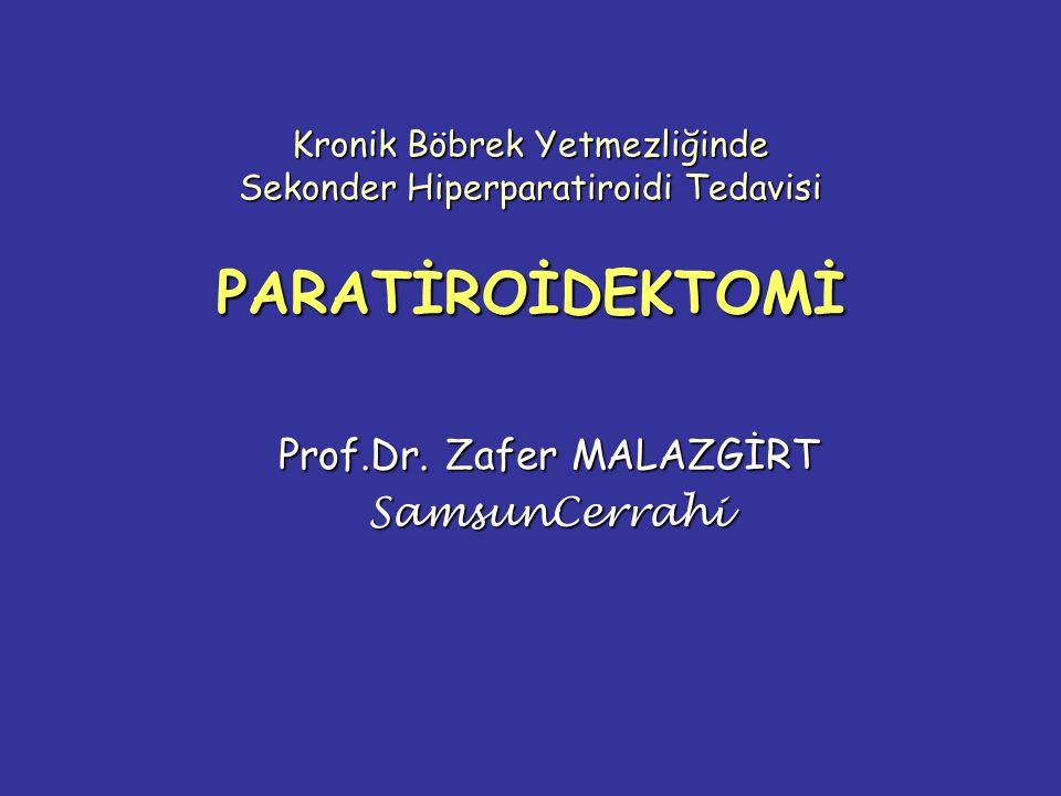 Prof.Dr. Zafer MALAZGİRT SamsunCerrahi