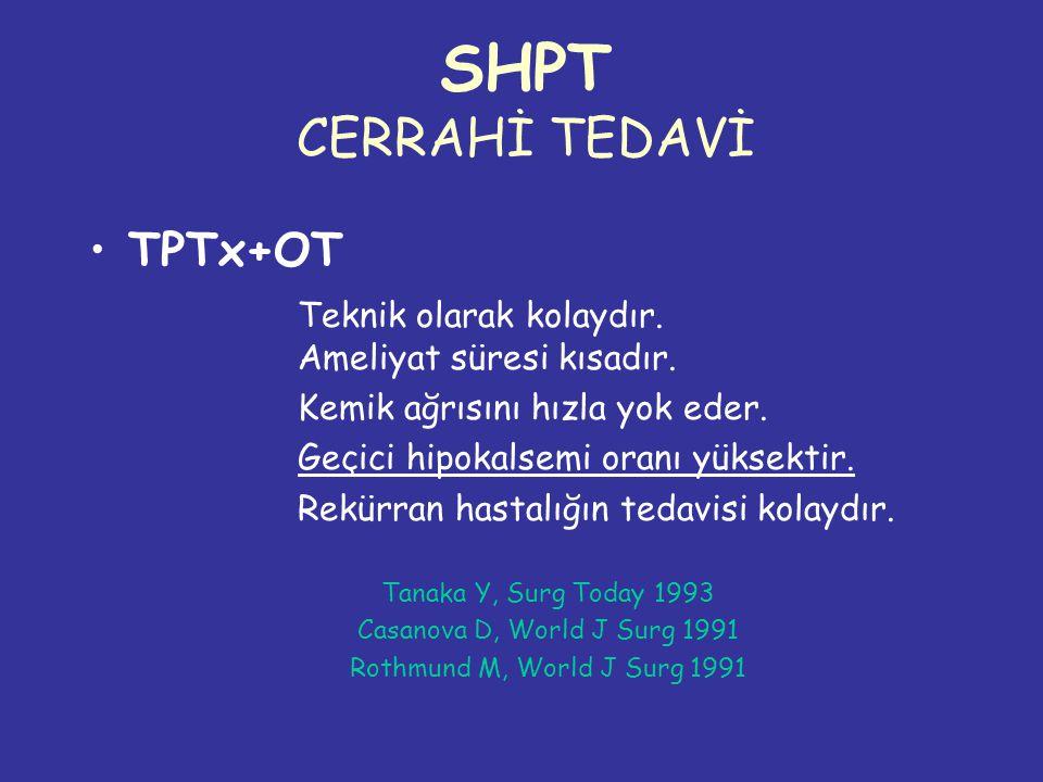 SHPT CERRAHİ TEDAVİ TPTx+OT