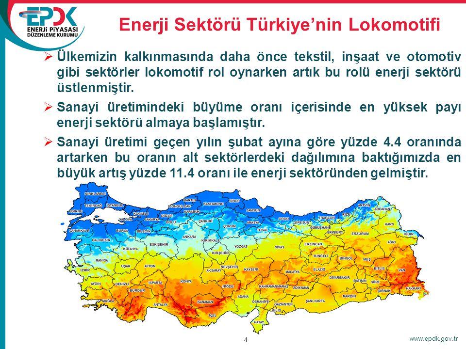 Enerji Sektörü Türkiye'nin Lokomotifi