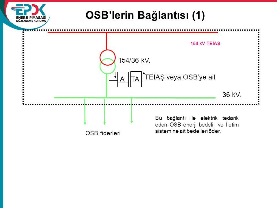 OSB'lerin Bağlantısı (1)