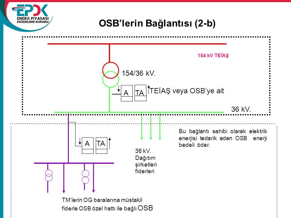 OSB'lerin Bağlantısı (2-b)