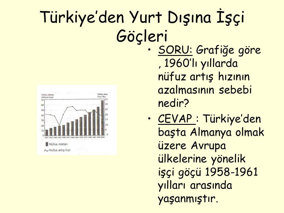 Türkiye'den Yurt Dışına İşçi Göçleri