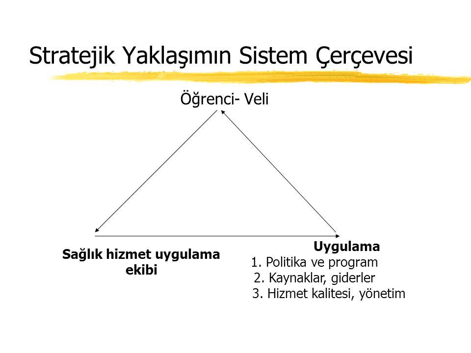Stratejik Yaklaşımın Sistem Çerçevesi