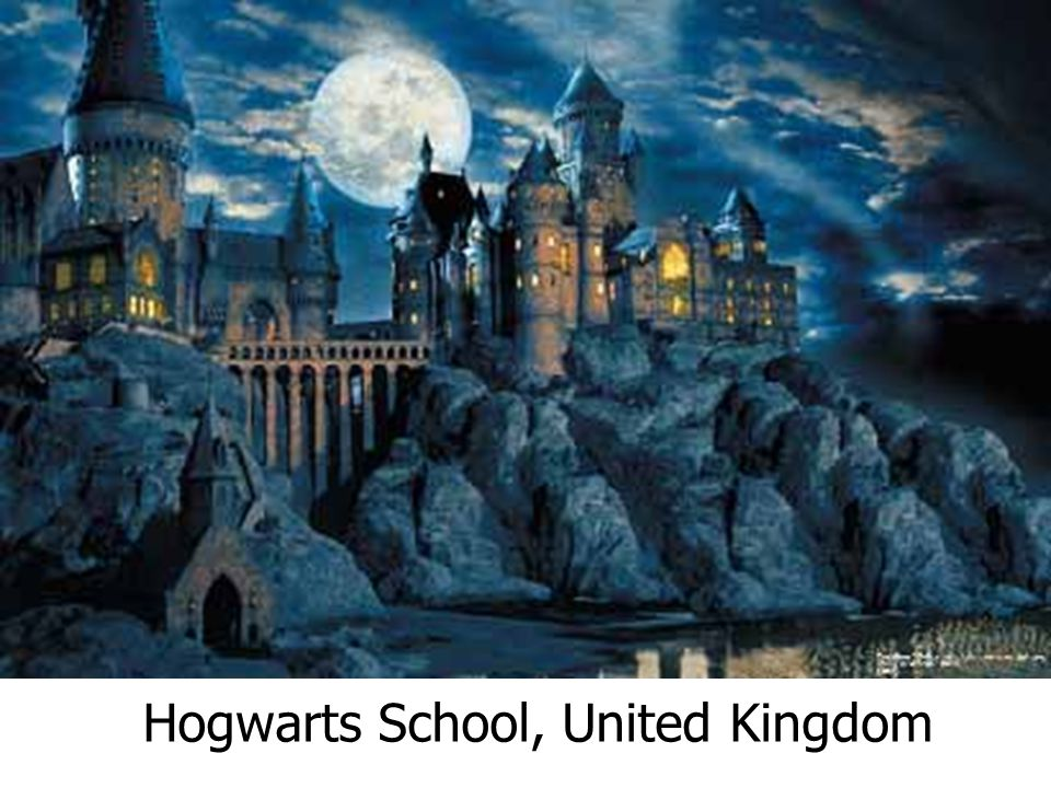 Hogwarts School, United Kingdom
