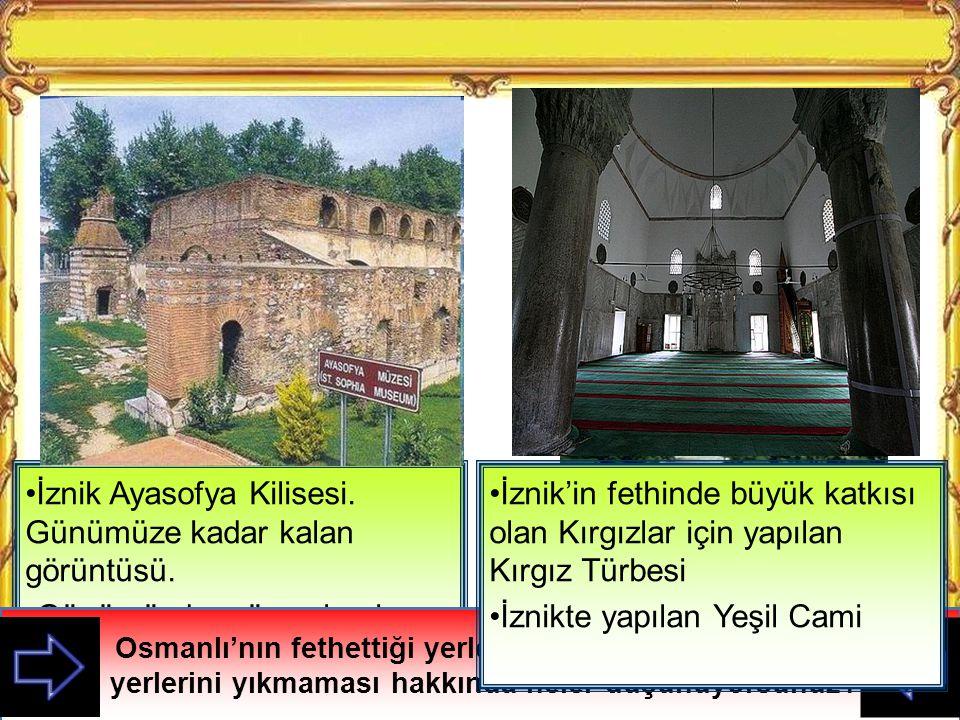 İznik Ayasofya Kilisesi. Günümüze kadar kalan görüntüsü.