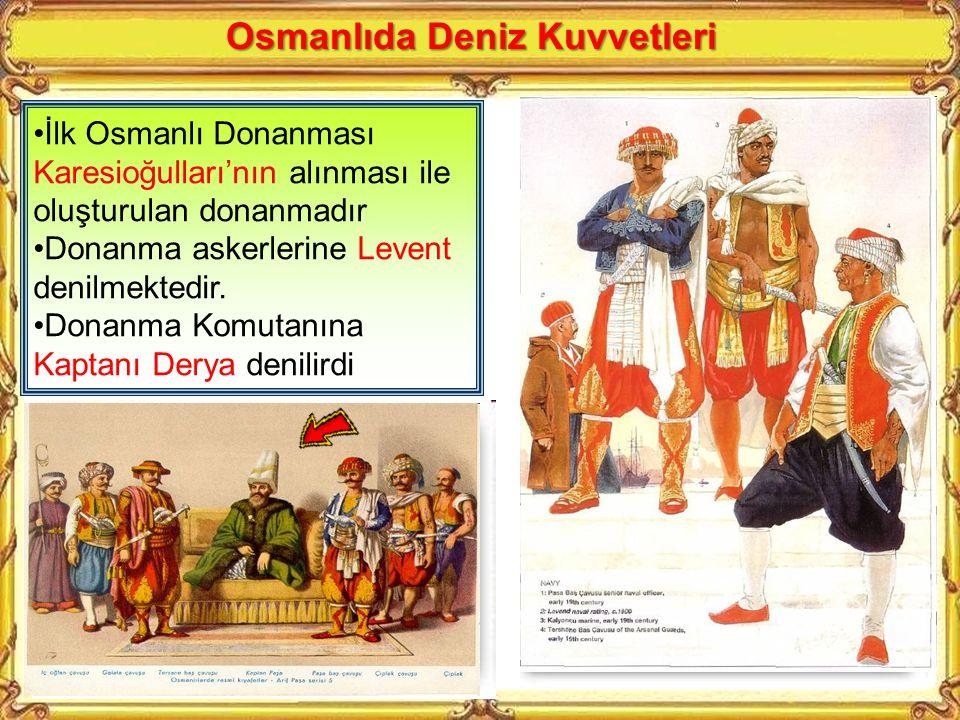Osmanlıda Deniz Kuvvetleri