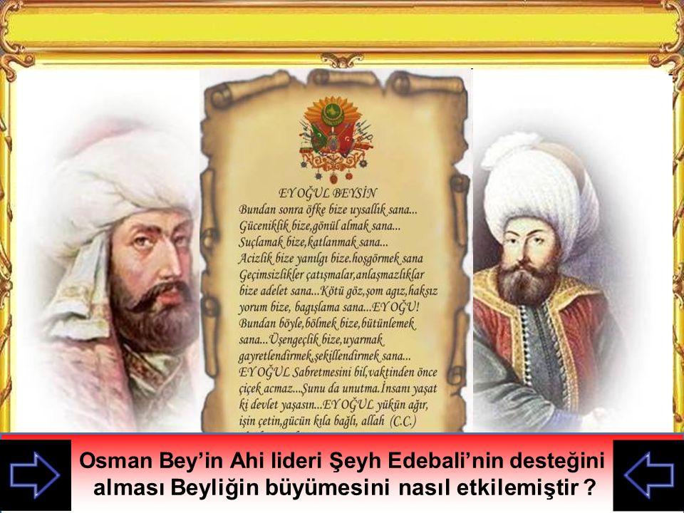 Şeyh Edebali Osman Gazi