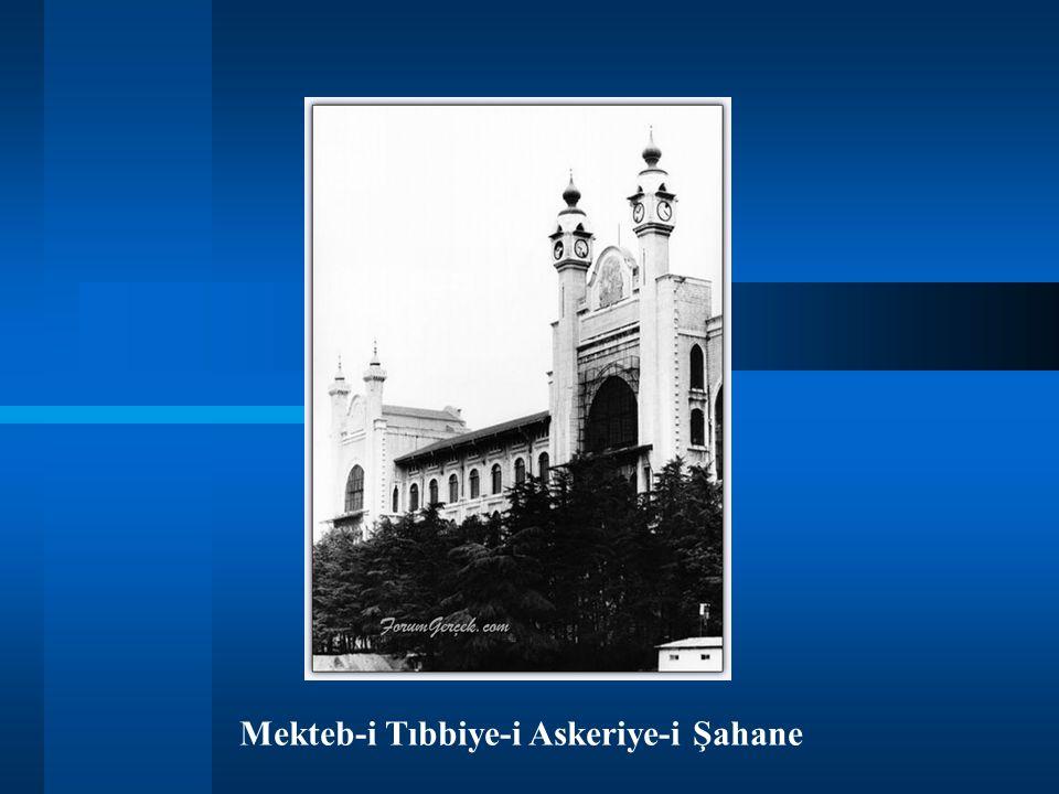 Mekteb-i Tıbbiye-i Askeriye-i Şahane