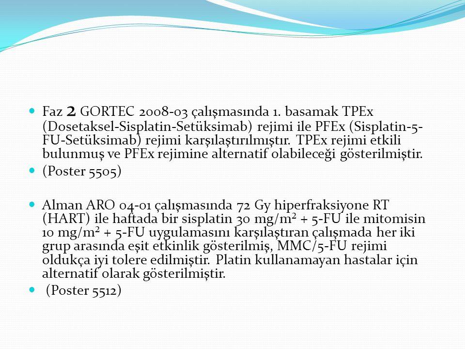 Faz 2 GORTEC 2008-03 çalışmasında 1