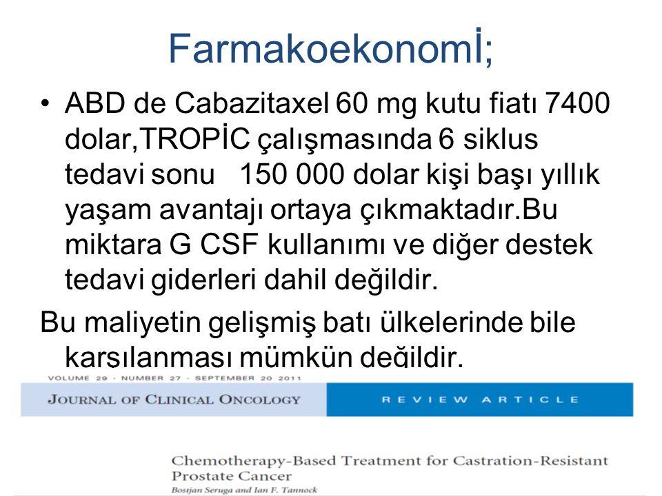 Farmakoekonomİ;