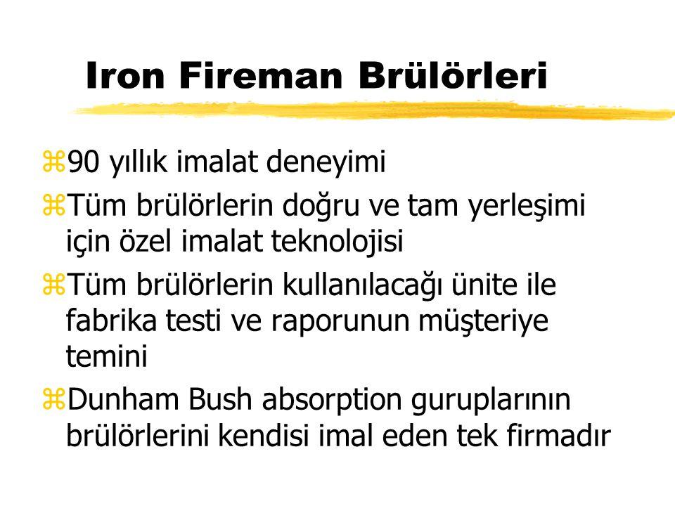 Iron Fireman Brülörleri