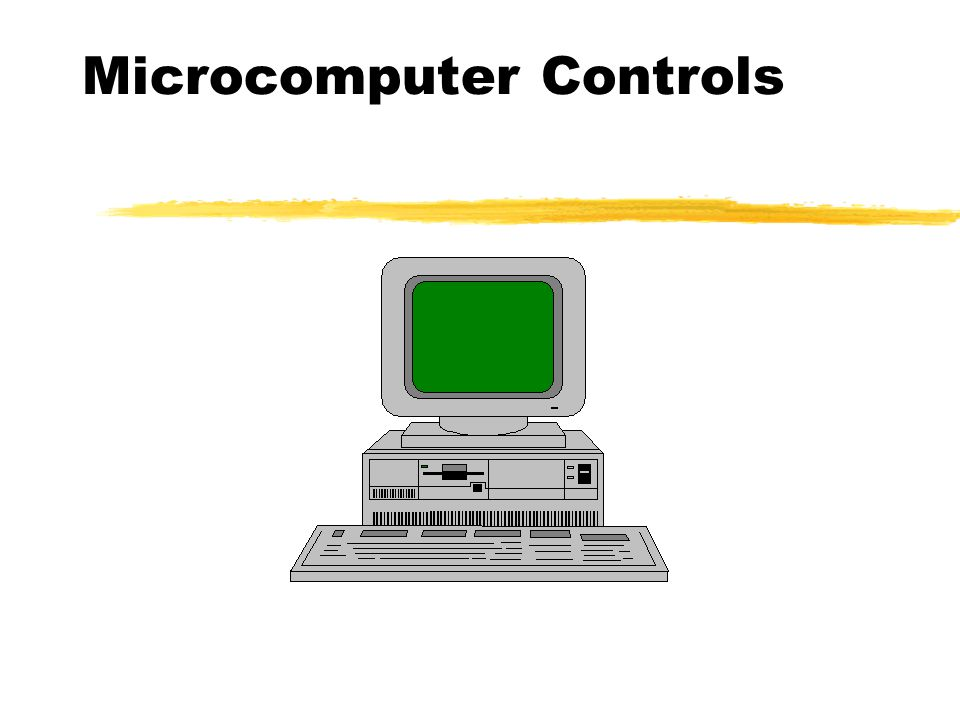 Microcomputer Controls