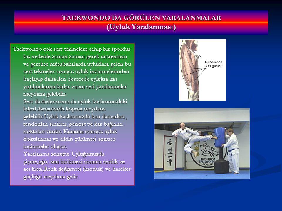 TAEKWONDO DA GÖRÜLEN YARALANMALAR (Uyluk Yaralanması)