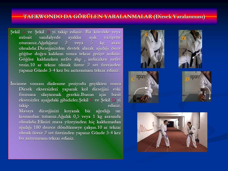 TAEKWONDO DA GÖRÜLEN YARALANMALAR (Dirsek Yaralanması)